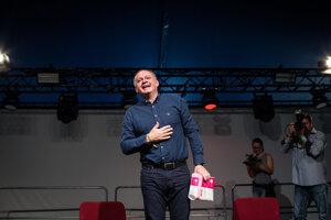 Na festivale sa ukázal aj prezident Andrej Kiska.