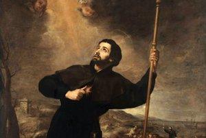 Sv. František Xaverský.