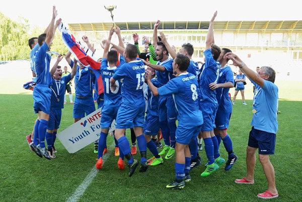 Tím Husárik U19 zopakoval zlato z Vroclavu.