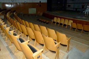 Hlavná divadelná sála.