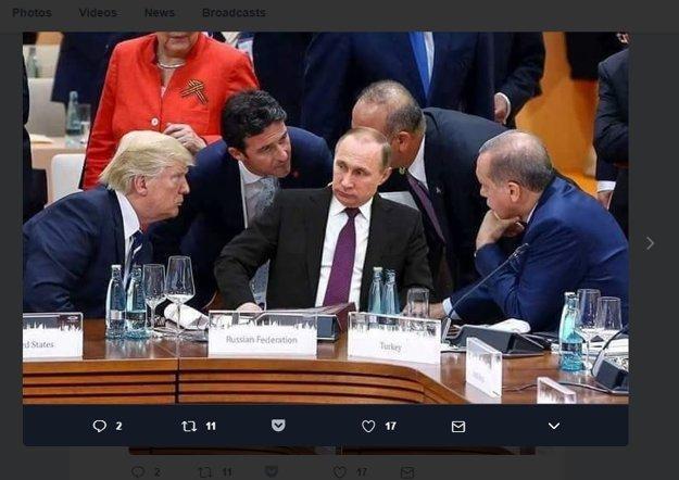 Na internete sa šíri sfalšovaná fotografia. Vladimira Putina do nej dorobili photoshopom.