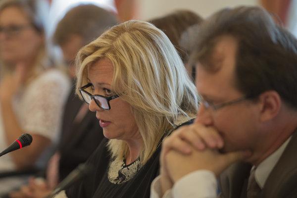 Novou šéfkou Súdnej rady sa stala Lenka Praženková.