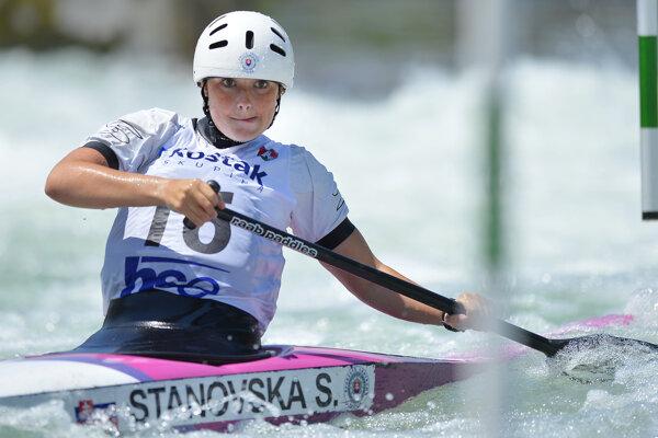 Soňa Stanovská ešte na MS juniorov medailu nezískala.