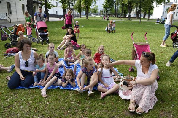 Akcia mala medzi deťmi veľký úspech.