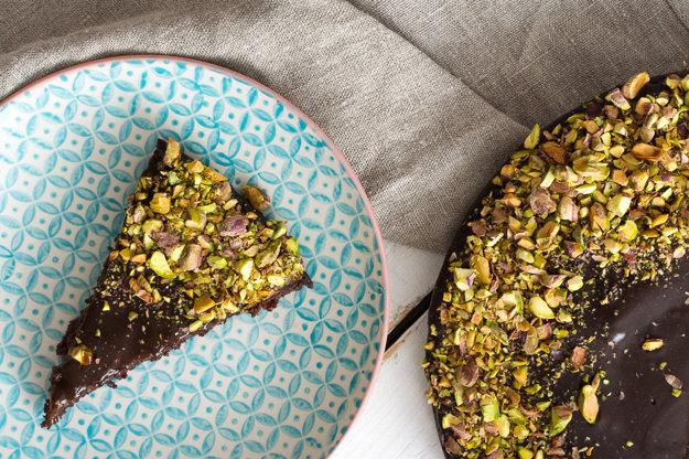 Cviklovo-karobový koláč