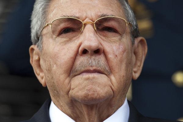 Kubánsky prezident Raúl Castro.