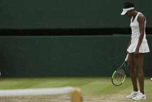 Sklamaná Venus Williamsová.