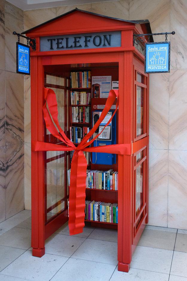 Netradičná knižnica bude ponúkať najmä detskú literatúru.