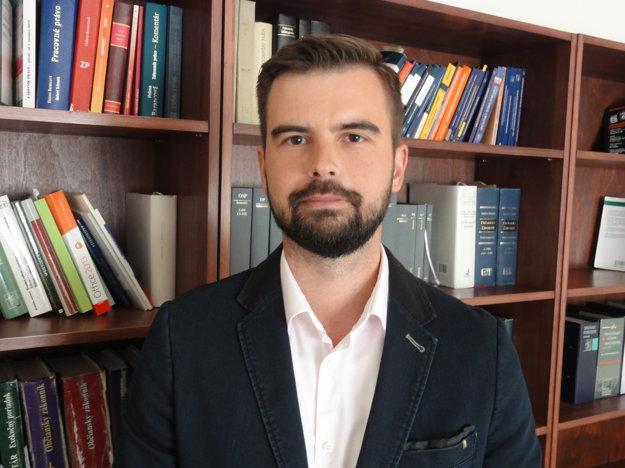 Právnik rodín Martin Cimrák.