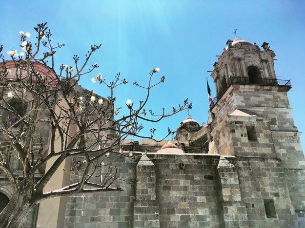 Katedrále Nanebovzatia Panny Mária na námestí Zócalo