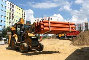 S prácami na Rudohorskej začali 7. júla.