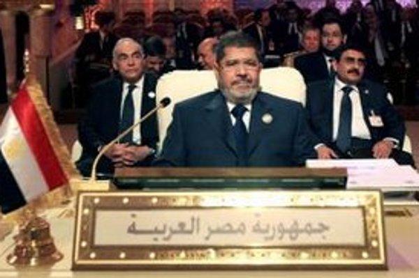 Egyptský islamský prezident Muhammad Mursí.