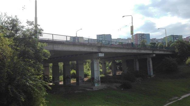 Most na Furči. Aj ten čaká čoskoro nevyhnutná oprava.