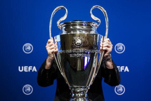 Trofej pre víťaza Ligy majstrov - ilustračná fotografia.