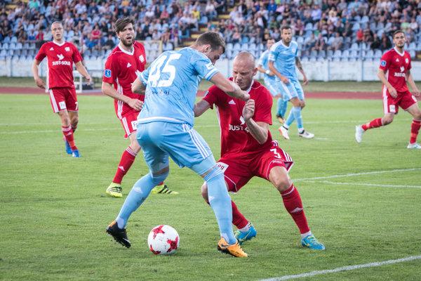 Futbalisti Slovana manko z domáceho zápasu nezmazali.