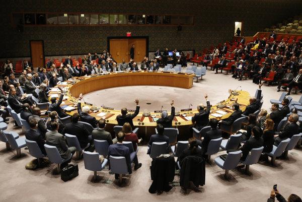 Bezpečnostná rada Organizácie Spojených národov.