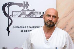 Roman Velický, primár chirurgického oddelenia Nemocnice s poliklinikou Prievidza so sídlom v Bojniciach.