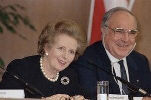 Helmut Kohl s Margaret Thatcherovou.