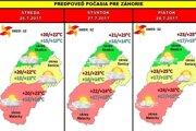 Predpoveď počasia na Záhorí