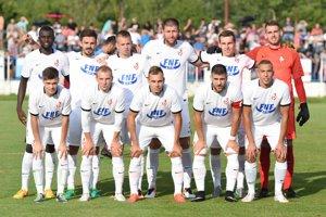 Tím Serede pred prípravným zápasom s Trabzonsporom.