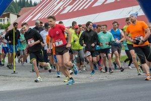 Druhého ročníka sa zúčastnilo takmer 80 bežcov.