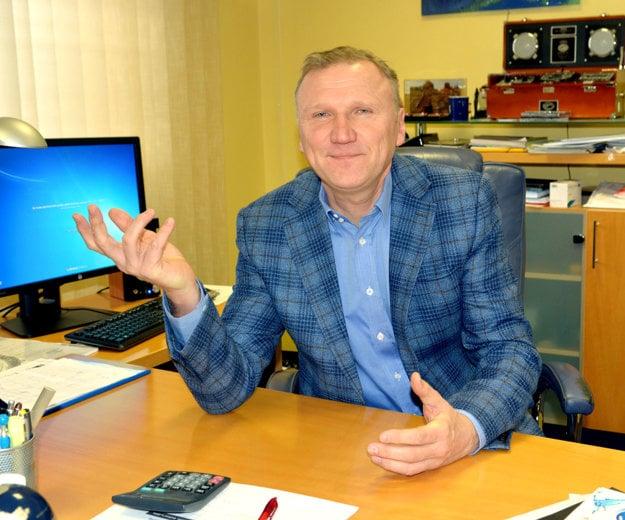 Stanislav Hreha. Generálny riaditeľ vodární.