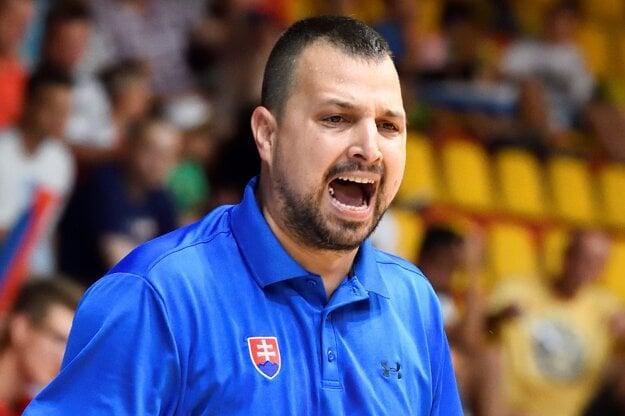 Tréner Slovenska Richard Ďuriš