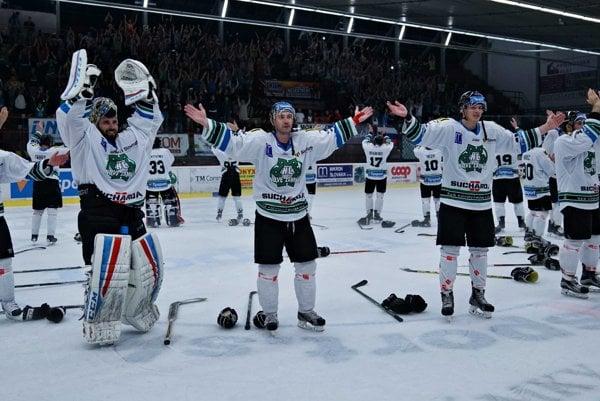 Hokejisti HC sa tešia na fanúšikov aj v 1. lige