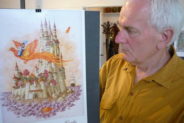 Marián Čapka ilustroval aj detské príbehy zcelého sveta pod názvom Rozprávky ozlatom vajíčku.