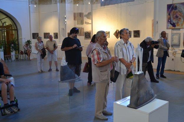 Vernisáž výstavy Vrstvy v Galérii Limes.