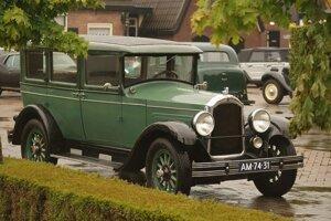 Lákadlom bude slávne Willys Knihht z roku 1920.
