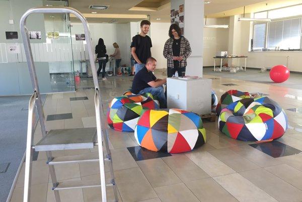 Start-upové centrum v Novom Meste nad Váhom.