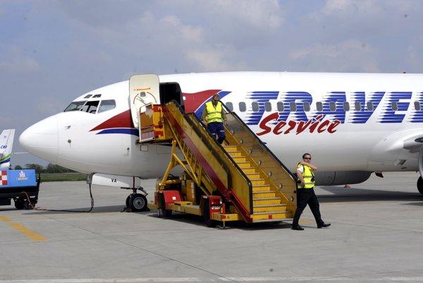 Boeing spoločnosti Travel Service.