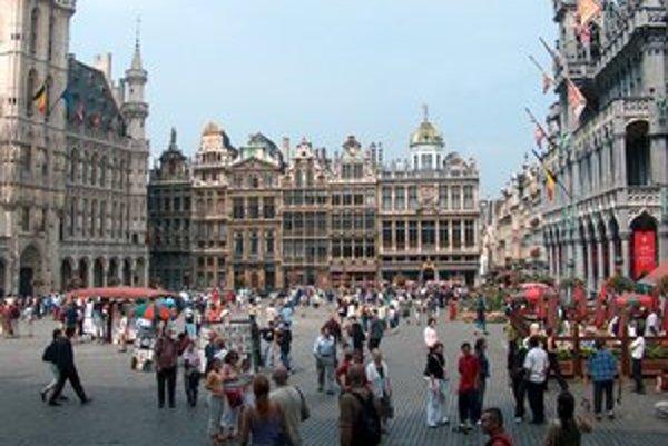 Brusel je čoraz pestrejší.