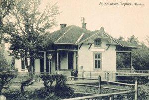 Stanica v Štubnianskych Tepliciach.
