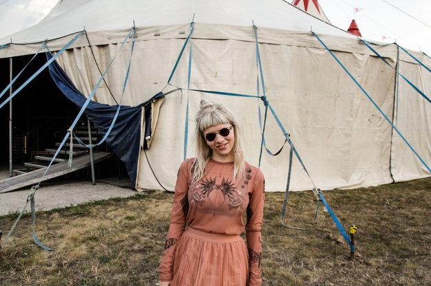 Nórska speváčka Aurora.
