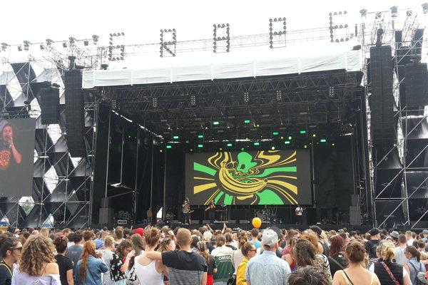 Koncert skupiny Medial Banana.