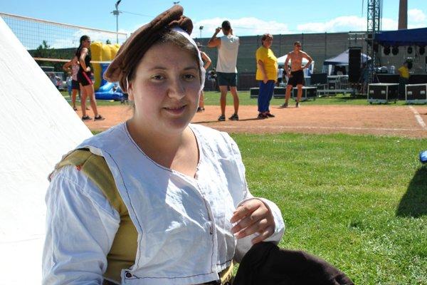 Simona Albertová je členkou fiľakovskej skupiny Defensores.