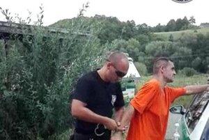 Zadržanie väzňa.