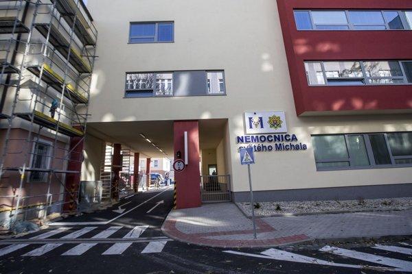 Nemocnica sv. Michala v Bratislave.