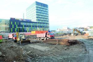 Duett Business Residence. Stavebné práce začali tento rok aj na výstavbe administratívneho komplexu vsusedstve košického Auparku.