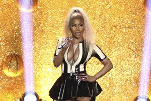 Nicki Minaj počas vystúpenia