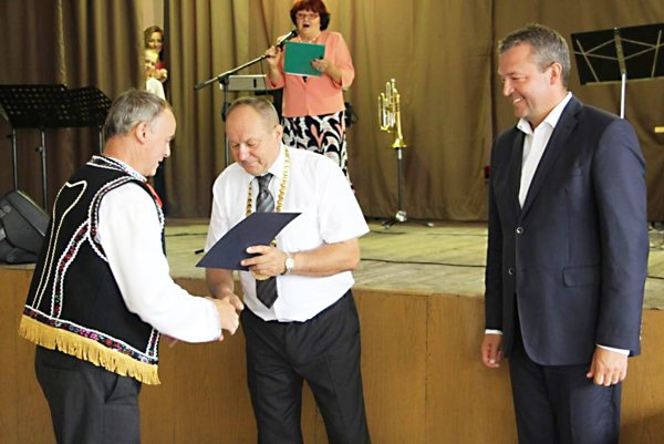 Ocenení vDome kultúry boli tí, ktorí sa najviac zaslúžili orozvoj obce.
