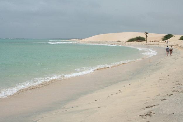 Ostrov Boa Vista, Kapverdy.