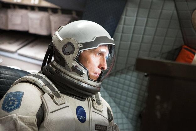 Matthew McConaughey vo filme Interstellar.