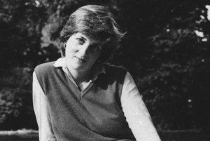 Princezná v roku 1980.