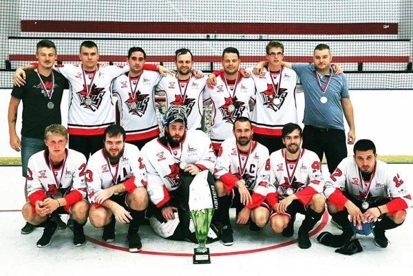 Team Nitra získal strieborné medaily.