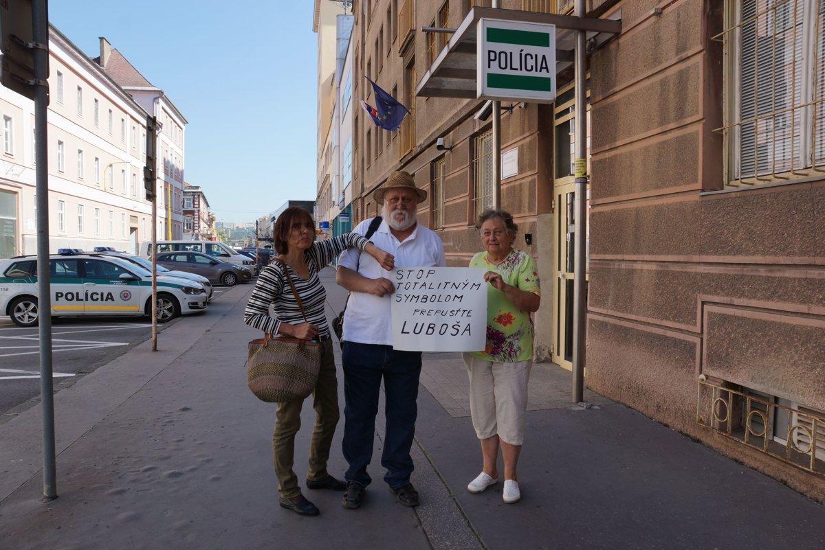 V Košiciach protestovali proti zadržaniu aktivistu Lorenza - kosice.korzar.sme.sk