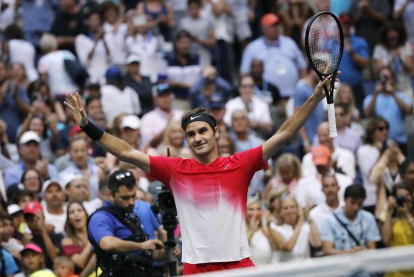 Roger Federer ja na vrchole aj keď dávno prekročil tridsiatku.
