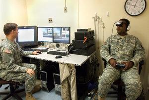 Vojaci testujú liečbu pomocou projektu virtuálnej reality Virtual Iarq.